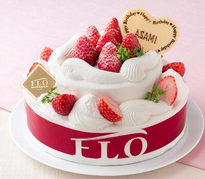 苺のパーティーケーキ